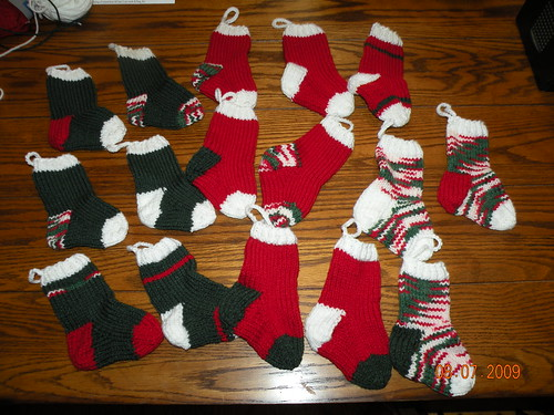 Sixteen stockings complete!