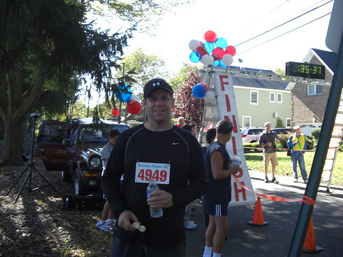 Shawn Collins at the Berkeley Heights 5k 2009