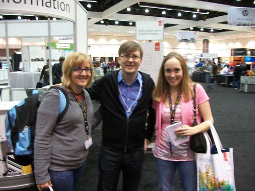 Me and Erin with Adobe CTO Kevin Lynch