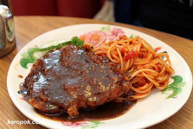 Pasta with Pepper Steak
