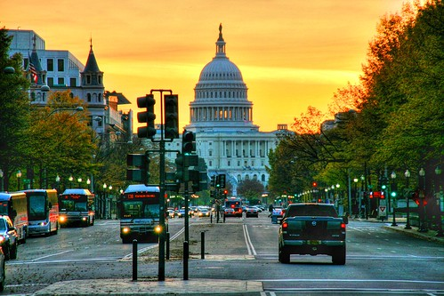 U.S. Capital in Early Light