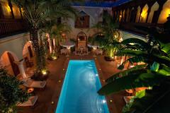 Riad, Marrakech HDR (marcp_dmoz) Tags: fountain pool garden hotel nikon nightshot map fuente jardin piscina swimmingpool morocco maroc nocturna handheld marrakech marrakesh nikkor marruecos luxury garten tone suites hdr marokko moroccan nachtaufnahme lujo riad ryad alojamiento marrakesch fontne marroqu photomatix tonemapped tonemapping d700 afsnikkor1735mmf28difed autoisosensitivitycontrol demeuresdorient