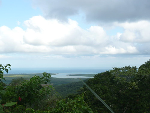The Daintree River as it meets the sea.  The slogan of this region is where the rainforest meets the reef. Its gorgeous.