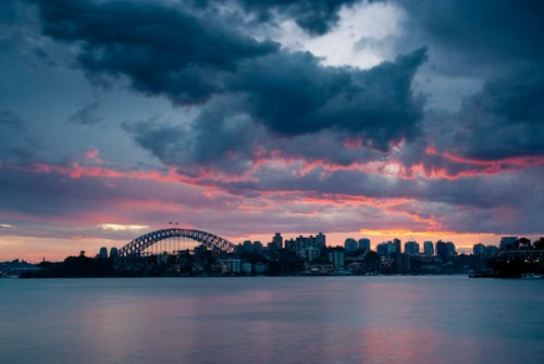 Sunset from Cremorne Point by stevoarnold