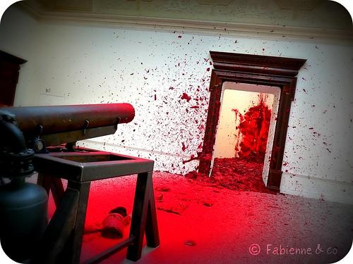 Shooting into the corner