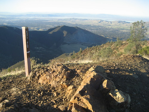 View from Eagle Peak, Mt. Diablo State Park