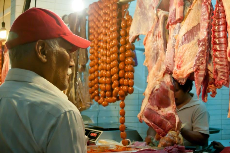 Market in Oaxaca Market