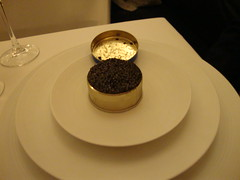 First Course:  Royal Sterling Caviar