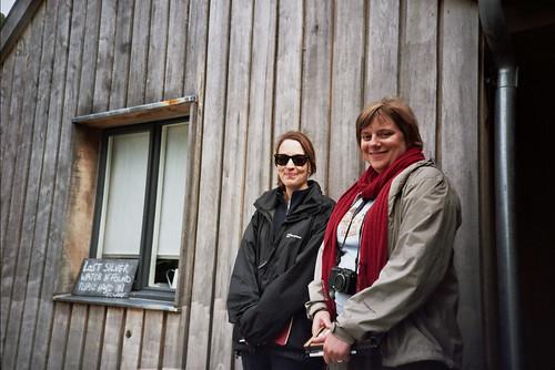 Caroline and Helen