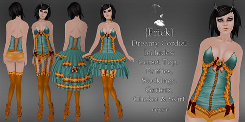 Frick - Dreamy Cordial - Ad