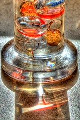 Galileo Thermometer HDR