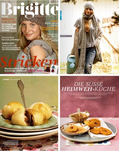 Brigitte Magazine Goes Model-Free