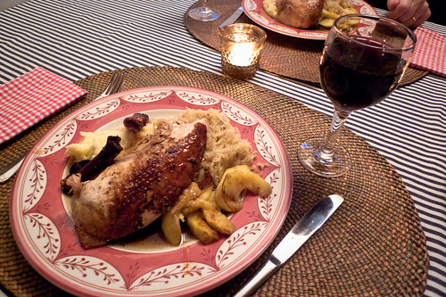 Alsace Chicken