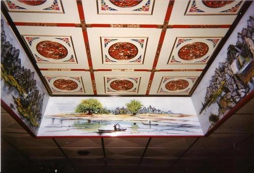 Plafond de restaurant - 2