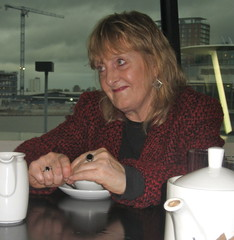 Michelle Magorian at the Imperial War Museum North