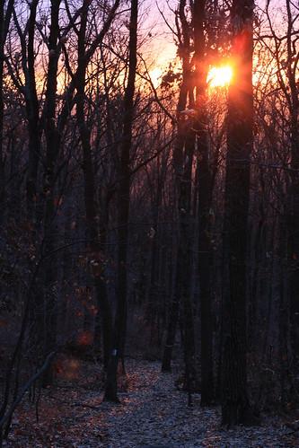 Sunset on Mount Nittany