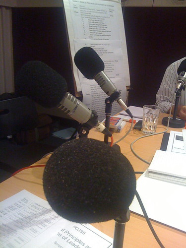 the recording studio for the timothy partnership