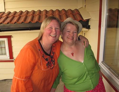Kristin and me.