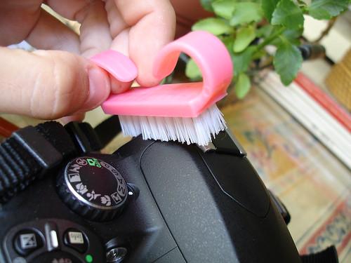Limpiando la cámara (II)