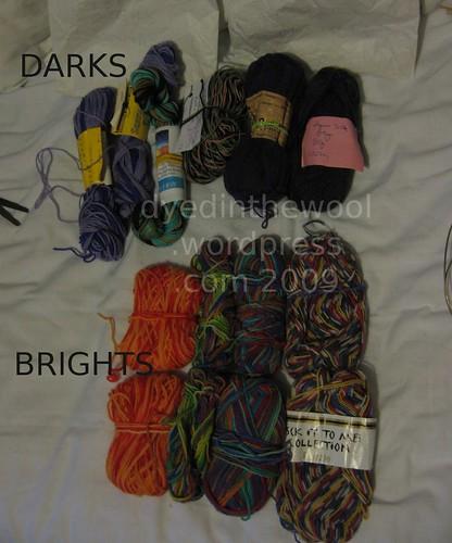 e sock yarn (by dyedinthewool)