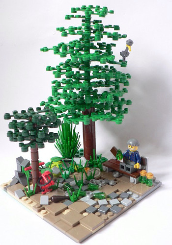 LEGO Wojciech Scrat drinking den