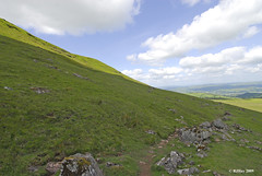 The Trail Down Off Hay Bluff