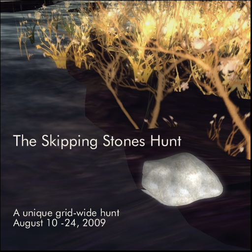 Skipping Stones Hunt Poster