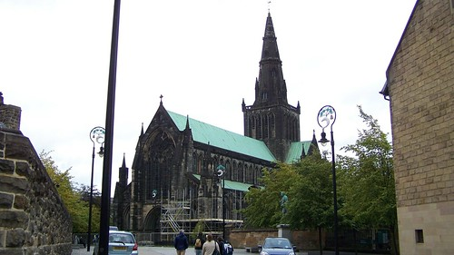 Glasgow Cathedral known as St Mungos or St Kentigirn