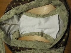 Panties crotch