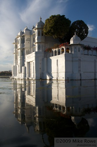 Reflections of a Lake Palace