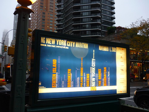 NY Marathon ad