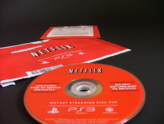 PS3 Netflix Disc