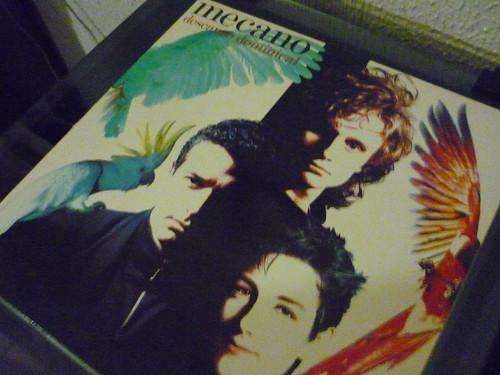 Mecano on vinyl