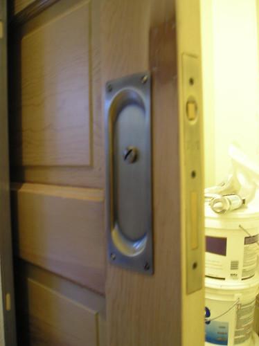 Pocket door conversion