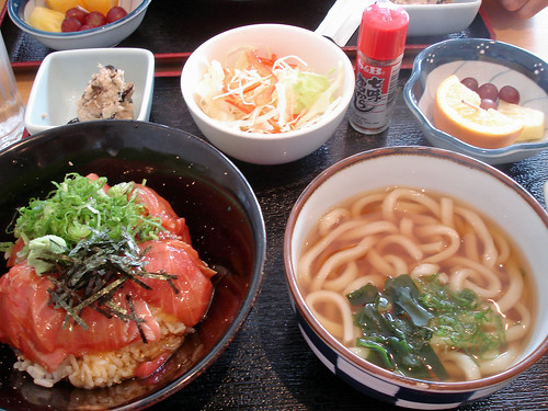 Maguro Zuke Don & Han Udon Set