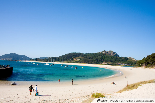 La playa mas bonita del mundo (Rodas Illas Cies)