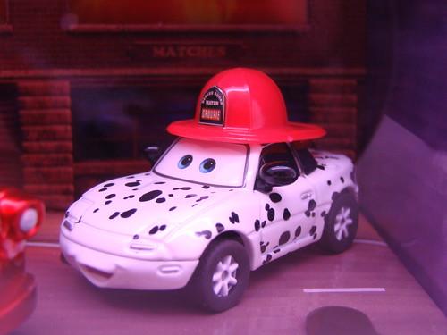 Disney CARS SDCC Rescue Squad Mater,Mia n Tia (3)