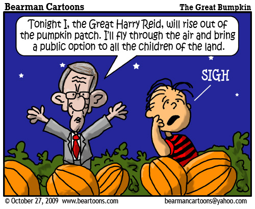 10 27 09 Bearman Cartoon Great Pumpkin Reid