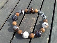 Jupiter jasper bracelet