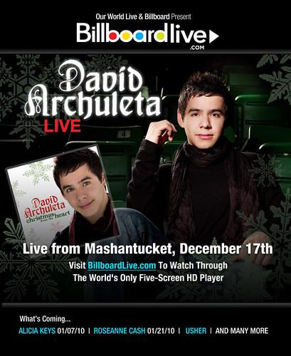 David Archuleta -- BillboardLive.com