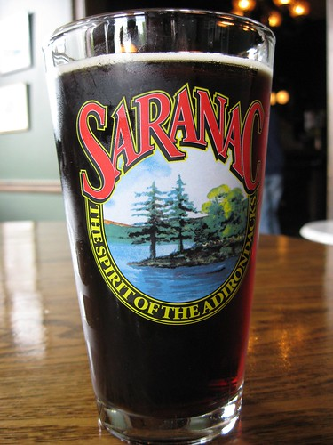 Saranac Black Forest Pint
