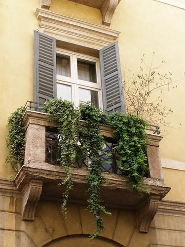 Un balcón