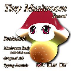 Tiny Mushroom (Sweet)