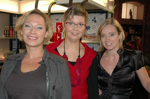 met de twee leading ladies