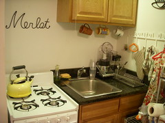 My Kitchen - good luck finding counter space!