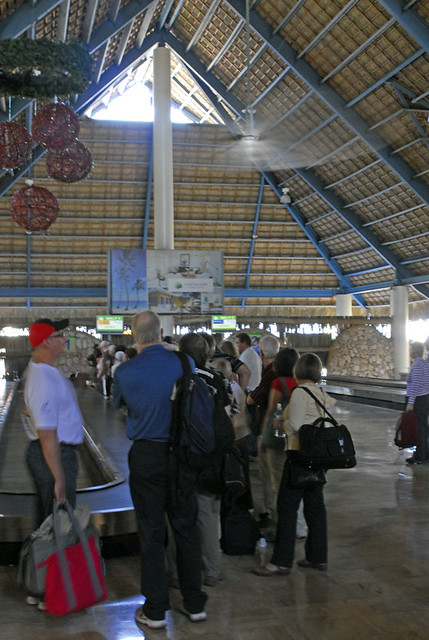 Waiting for Luggage - Punta Cana - 2009