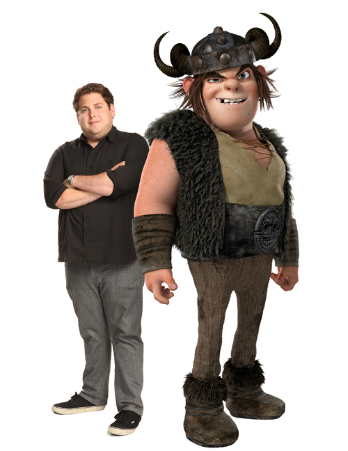 how to train your dragon characters and voice actors