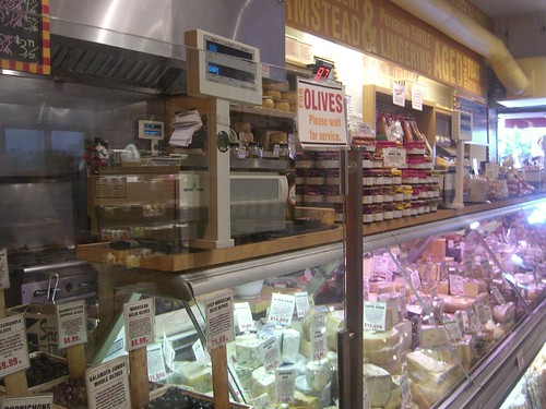 The bountiful cheese selection at Murrays