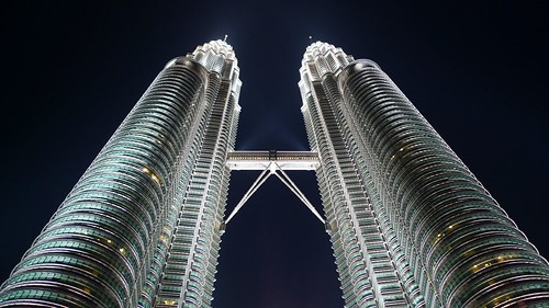 The classic KL photo, the Petronas Twin Towers