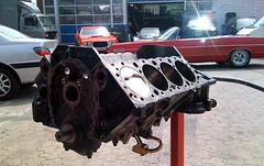 Engine Block Painted